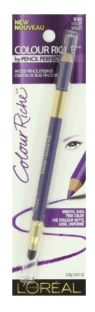 LOREAL-COLOUR-RICHE-WOOD-PENCIL-EYELINER-930-VIOLET-301935746370