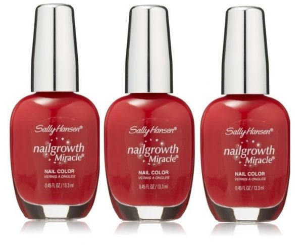 Lot Of 3 – Store Pull Sally Hansen Nail Growth Miracle 330 Stunning ...