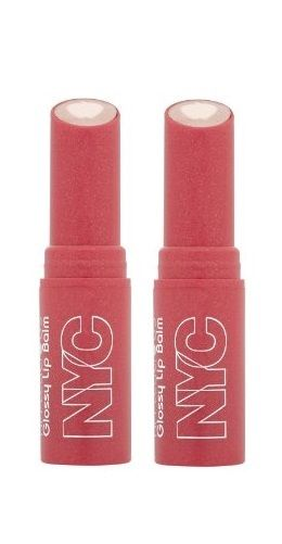 LOT-OF-2-NYC-New-York-Color-Applelicious-Glossy-Lip-Balm-Blushing-Golden-350-301942910395