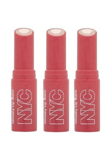LOT-OF-3-NYC-New-York-Color-Applelicious-Glossy-Lip-Balm-Blushing-Golden-350-301942910245