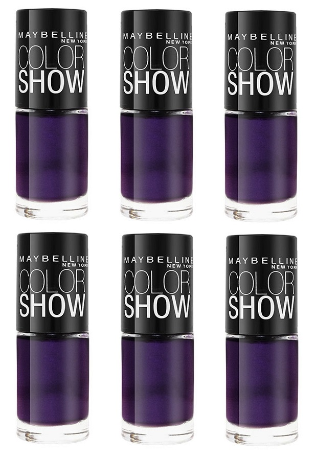 Maybelline Colorshow Nail Polish, 280 Plum Paradise Choose Your Pack ...