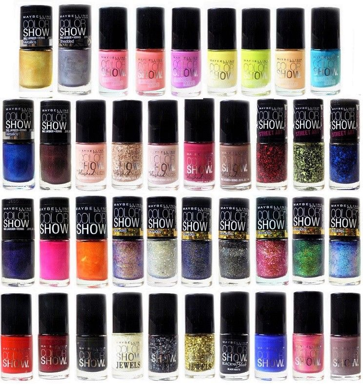 Maybelline Colorshow Nail Lacquer Polish Choose Your Color – Beat ...