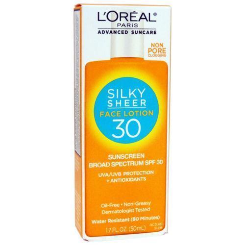 LOreal-Paris-Advanced-Suncare-Sunscreen-SPF-30-Silky-Sheer-Face-Lotion-262705139807