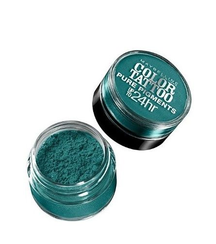 LOT-OF-2-MAYBELLINE-COLOR-TATTOO-PURE-PIGMENTS-EYE-SHADOW-5-NEVER-FADE-JADE-301922457098