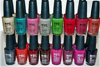 Nyc In A New York Color Minute Quick Dry Nail Polish Choose Ur Color